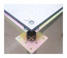 角鎖孔貼面活動地板